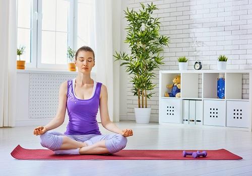 la pratique de yoga